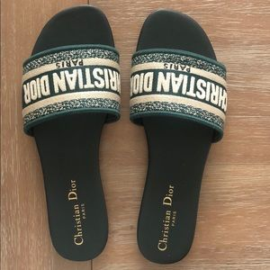 Christian Dior Dway Mule Embroidered slides